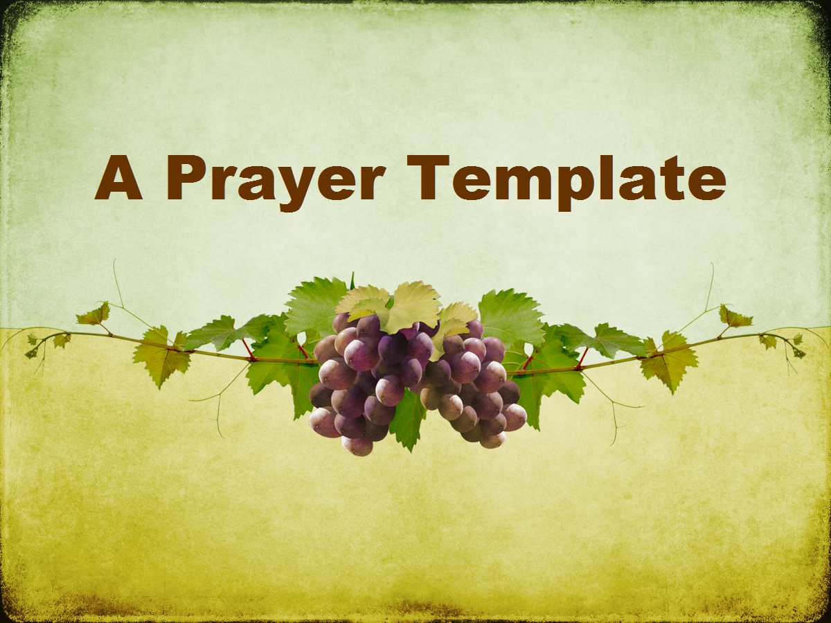 A prayer template living faith church for Prayer book template