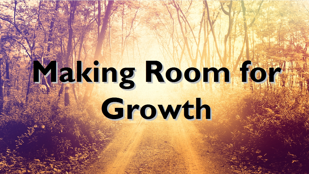 room for growth