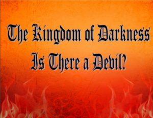 IS THERE A DEVIL