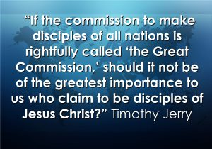 The Great Commission Quote